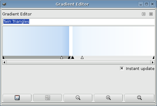 gimp image editor download. Create a suitable gradient using the GIMP's gradient editor