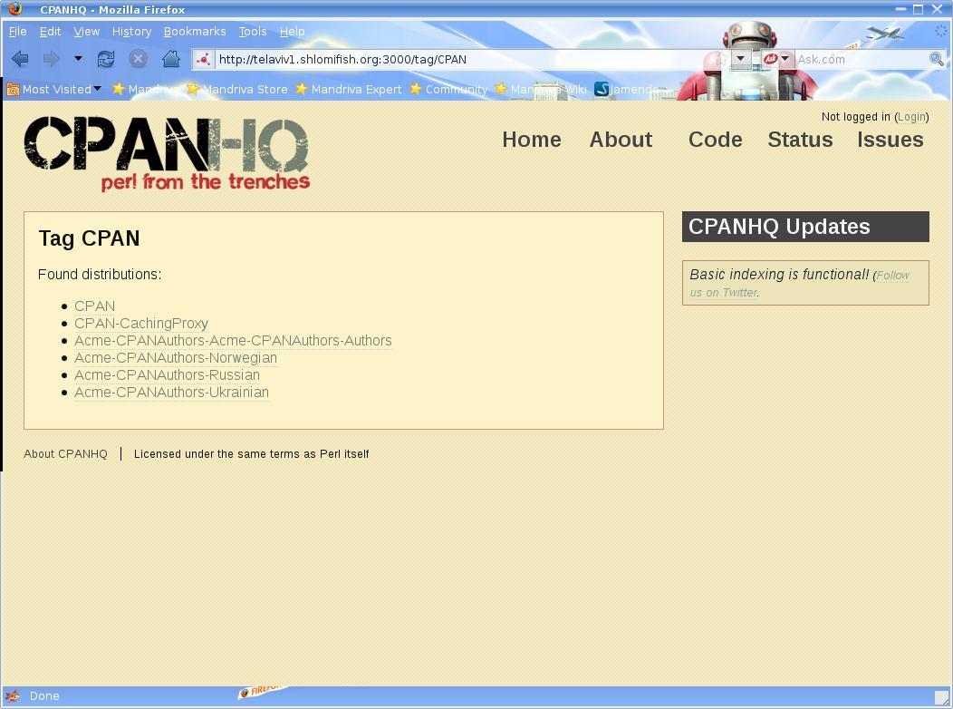 cpanhq screenshots